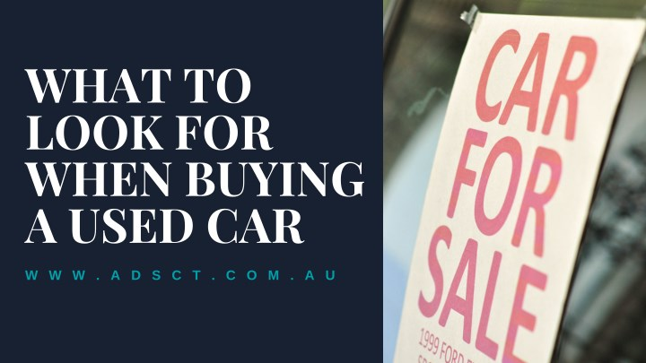 what to look for when buying a used car n.