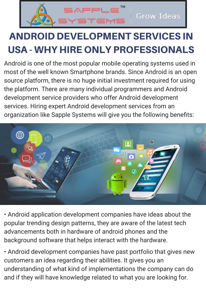 android development services in usa why hire only n.
