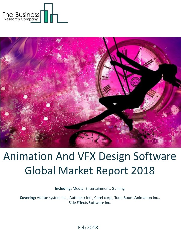 animation and vfx design software global market n.
