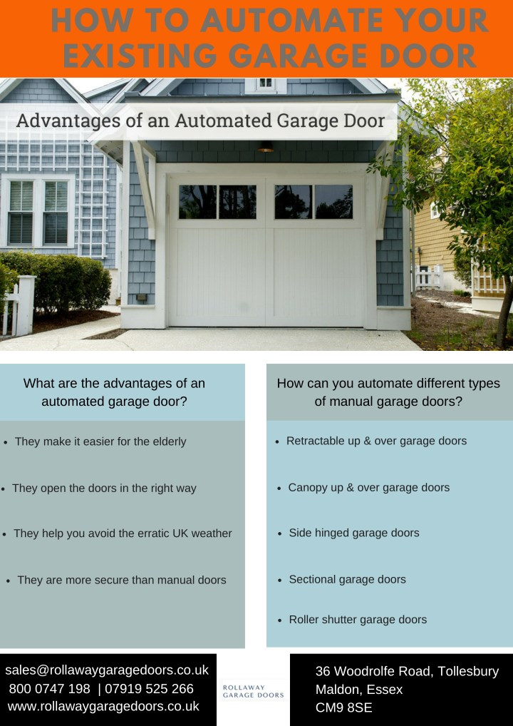how to automate your existing garage door n.