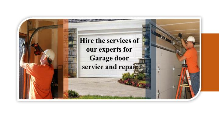 hire the services of our experts for garage door n.