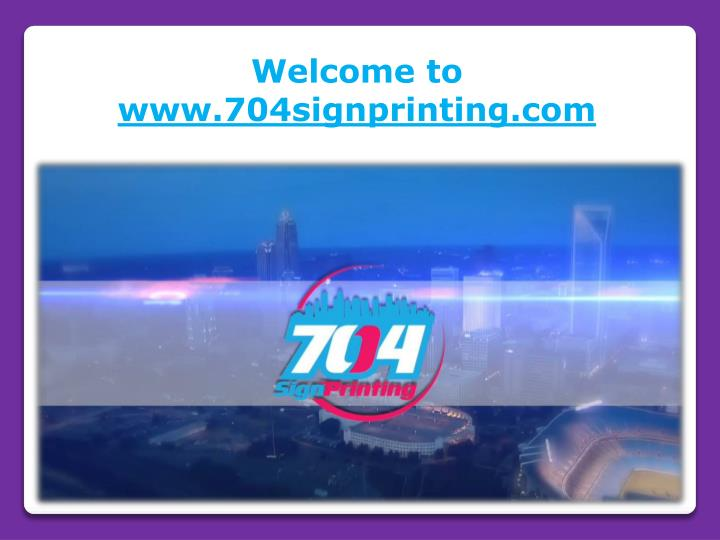 welcome to www 704signprinting com n.