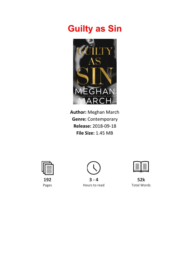 PPT - Free Download Guilty as Sin By Meghan March PowerPoint