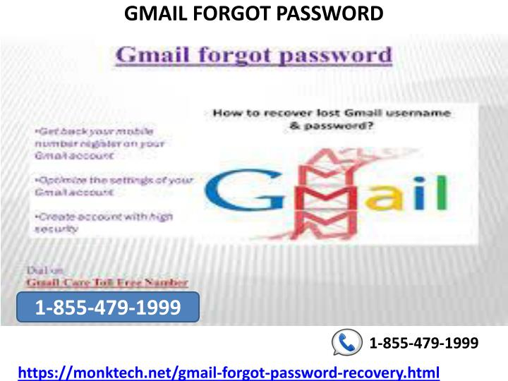 PPT - Recover your lost Gmail password at Gmail forgot password 1