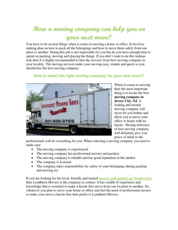 how a moving company can help you on your next n.