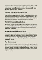 applications that convey upgraded client