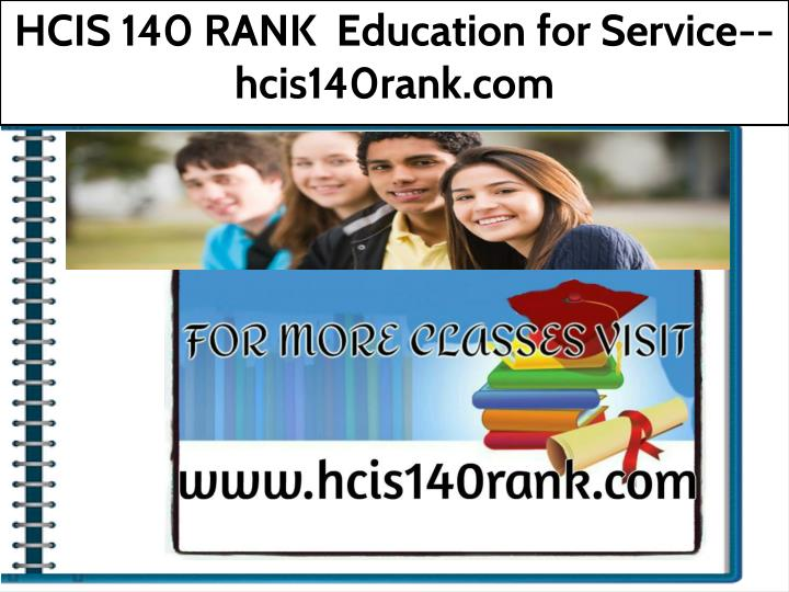 hcis 140 rank education for service hcis140rank n.