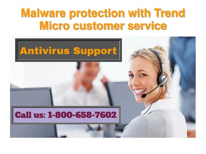malware protection with trend micro customer service n.