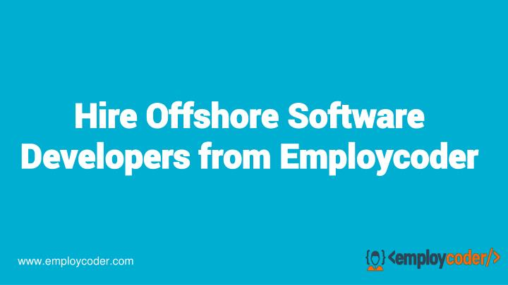 hire offshore software developers from employcoder n.