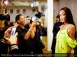 model winnie harlow prepares backstage at natasha