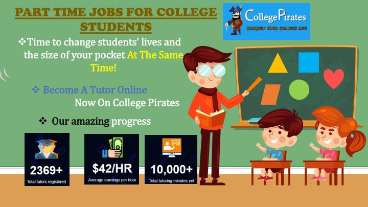 part time jobs for college students n.