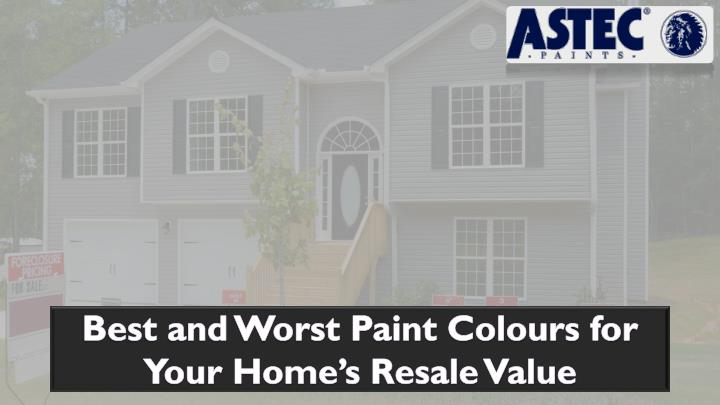best and worst paint colours for your home n.