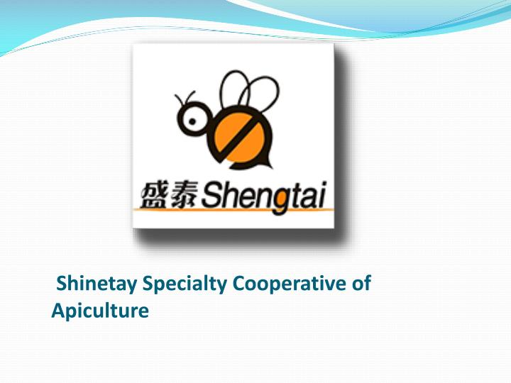 shinetay specialty cooperative of apiculture n.