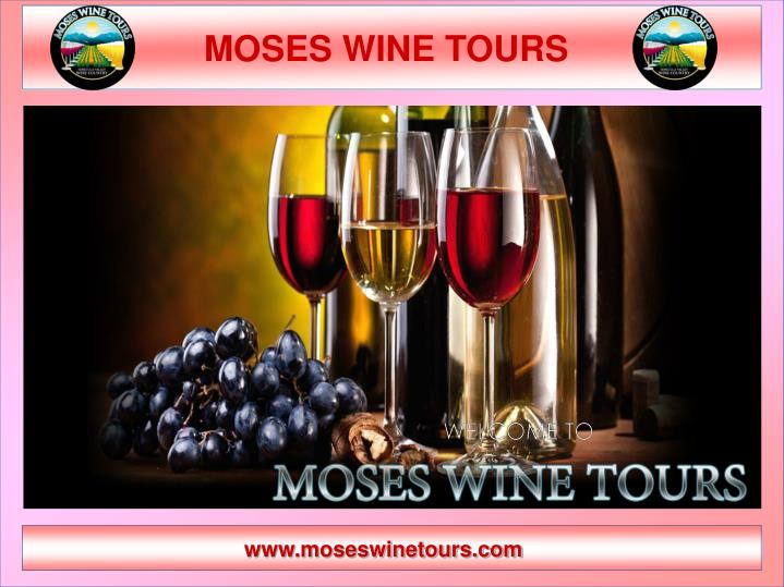 moses wine tours n.