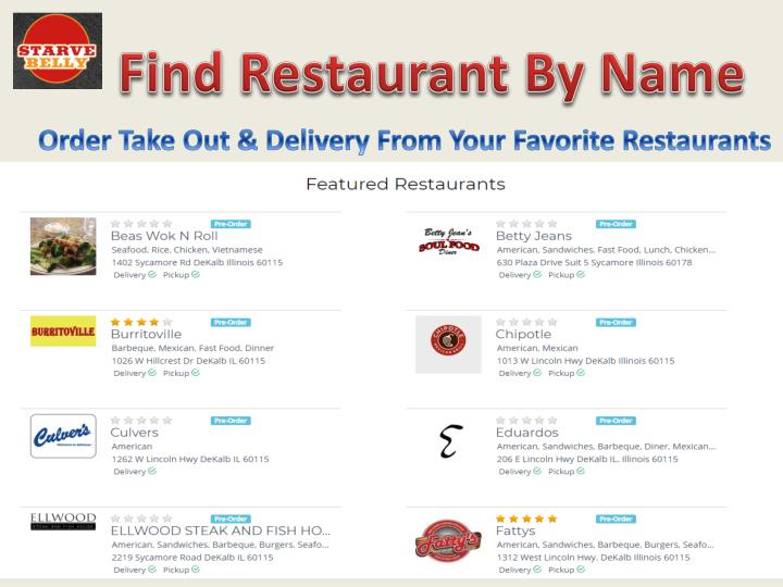 find restaurant by name n.