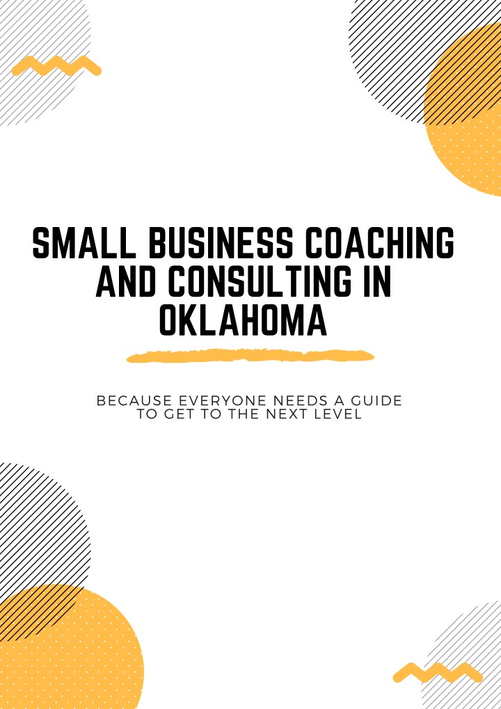 small business coaching and consulting in oklahoma n.
