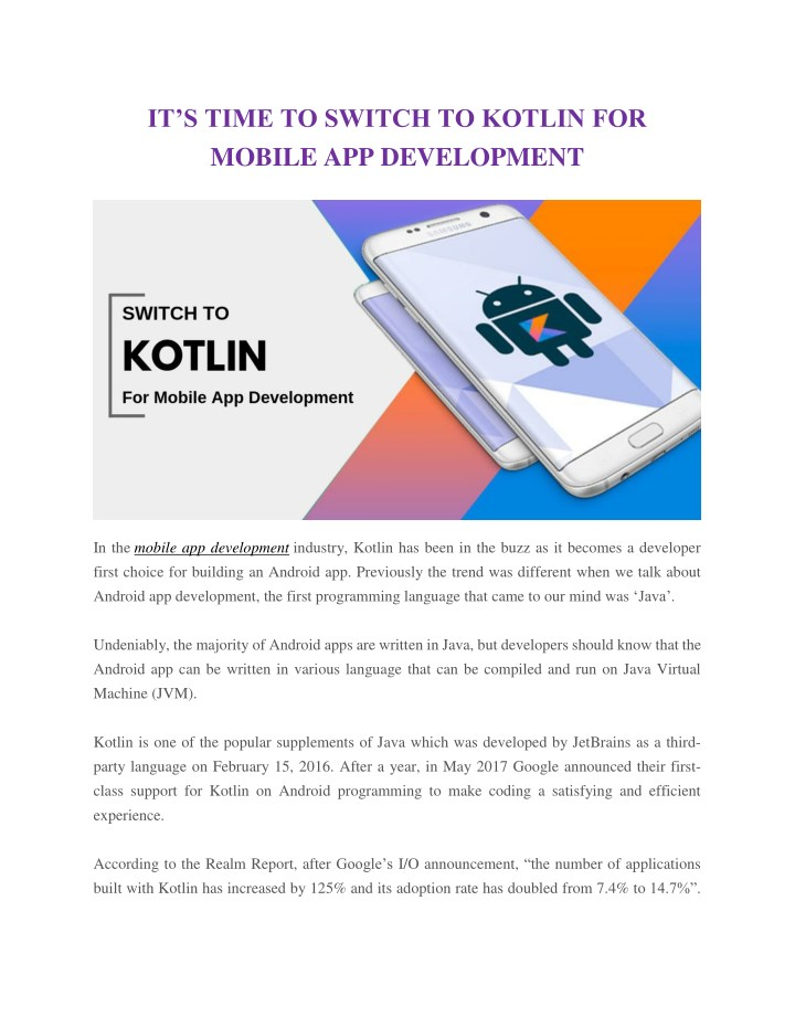 it s time to switch to kotlin for mobile n.
