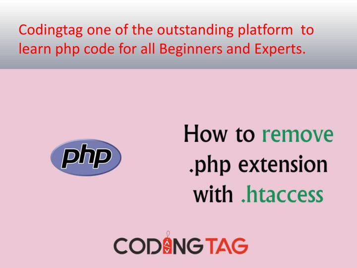 codingtag one of the outstanding platform n.