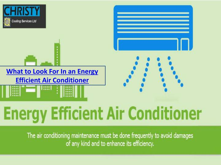 what to look for in an energy efficient n.