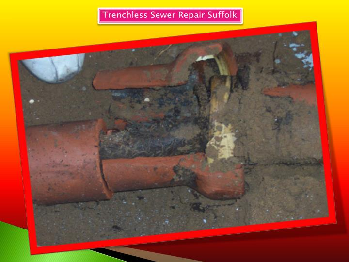trenchless sewer repair suffolk n.