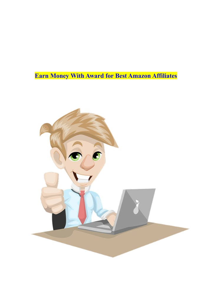 earn money with award for best amazon affiliates n.