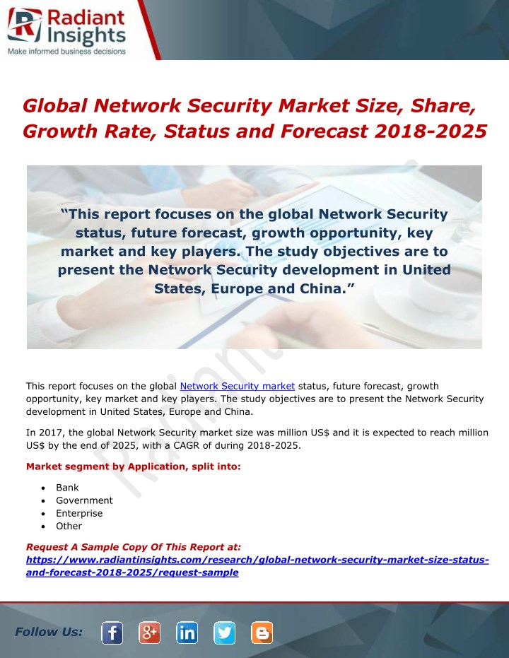 global network security market size share growth n.