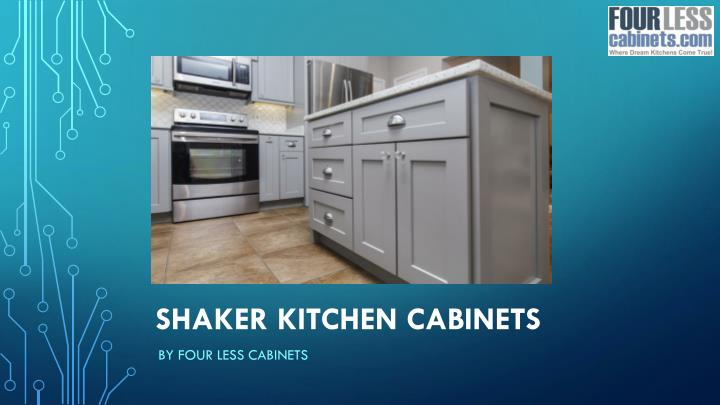 Shaker Kitchen Cabinets By Four Less
