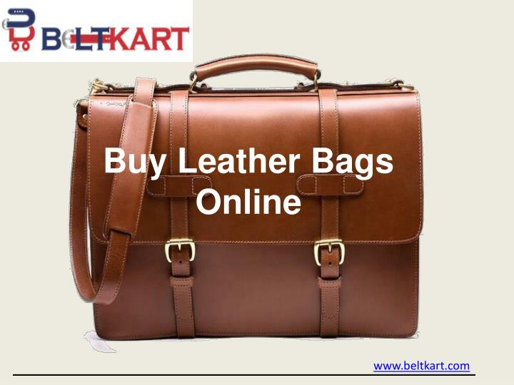 buy leather bags online n.