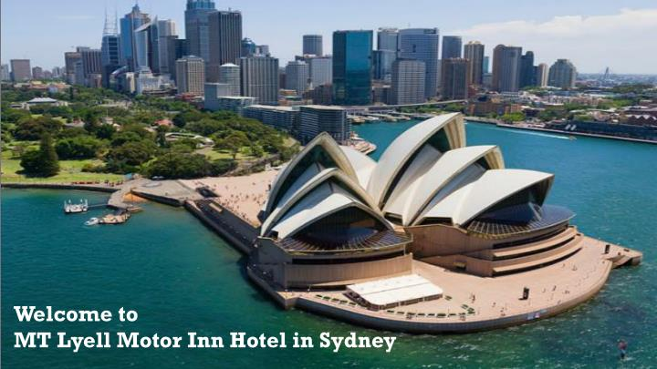 welcome to mt lyell motor inn hotel in sydney n.