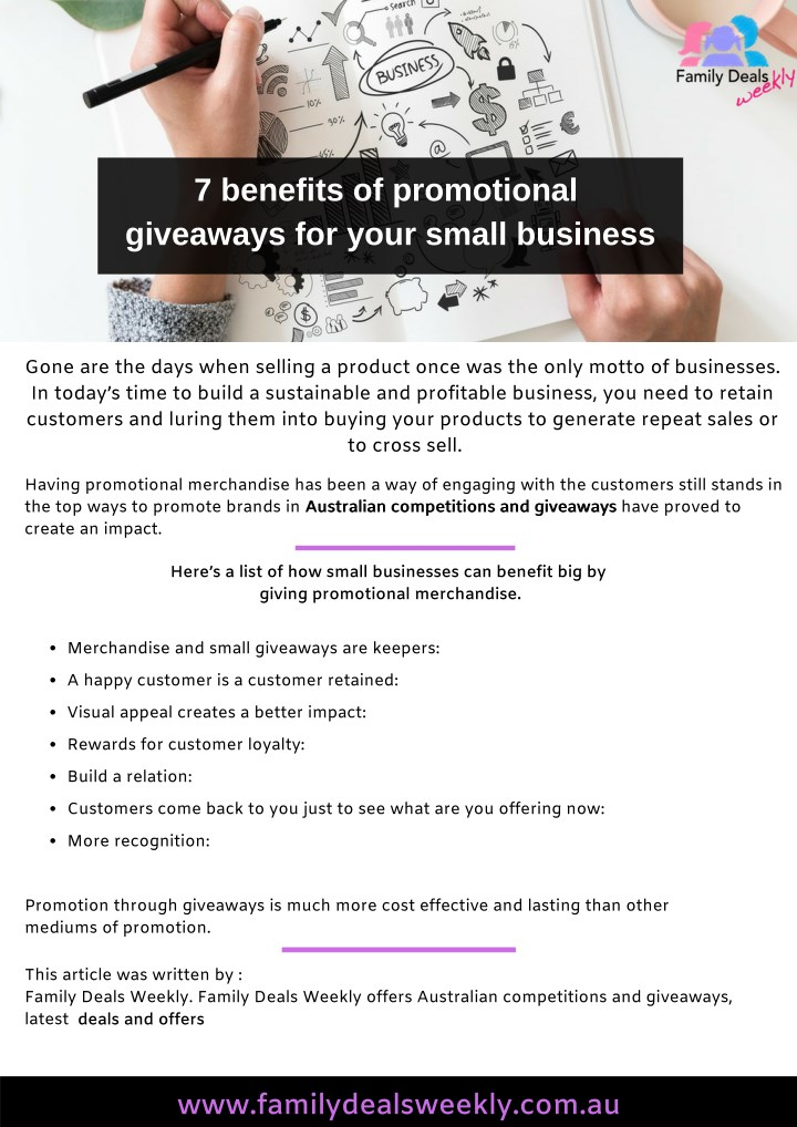 7 benefits of promotional giveaways for your n.
