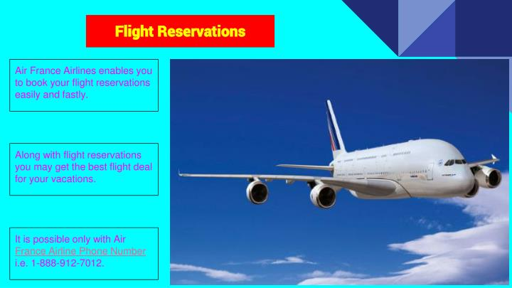 PPT - Air France Airlines Phone Number PowerPoint