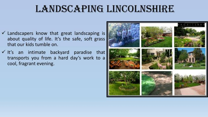 landscaping lincolnshire n.