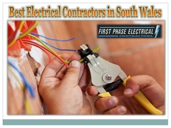 best electrical contractors in south wales n.