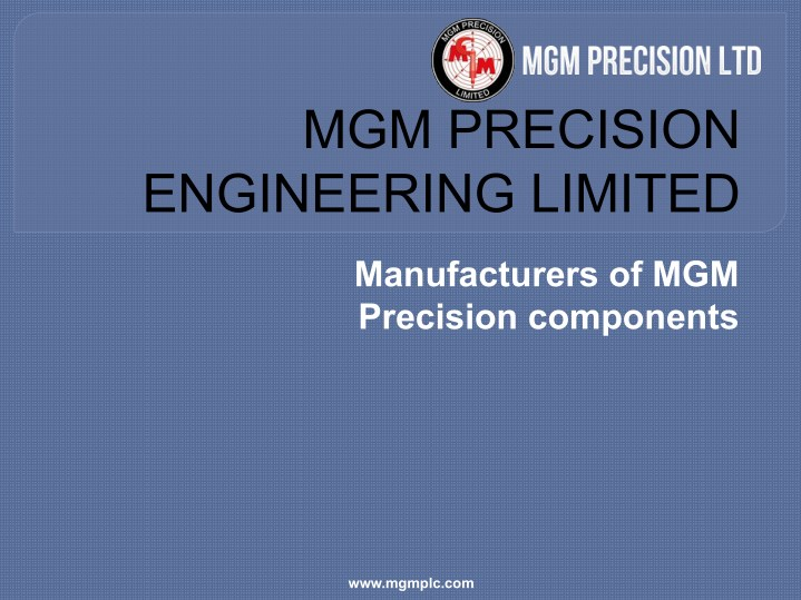 mgm precision engineering limited n.
