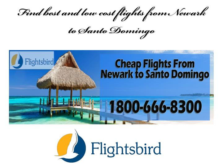 find best and low cost flights from newark to santo domingo n.