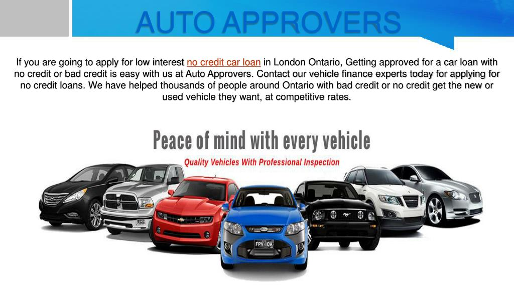 Ppt Car Loan No Credit Powerpoint Presentation Free Download Id 8018137