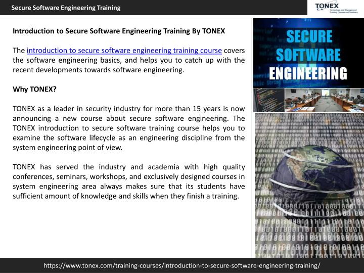 Introduction to software engineering.