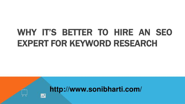 why it s better to hire an seo expert for keyword research n.