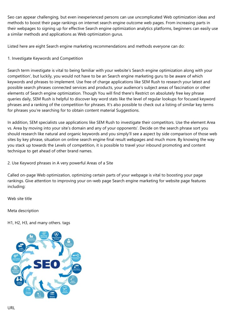 seo can appear challenging but even inexperienced n.