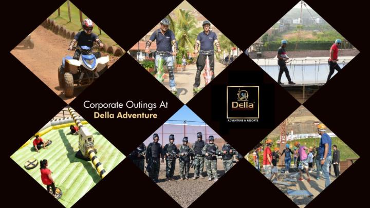 corporate outings at della adventure n.