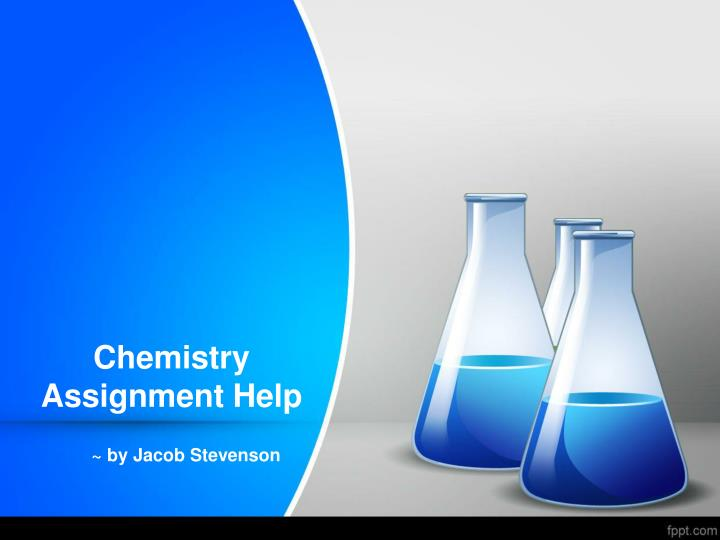 chemistry assignment help n.