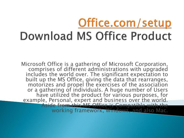 office com setup download ms office product n.