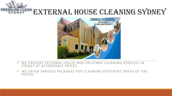 external house cleaning sydney n.