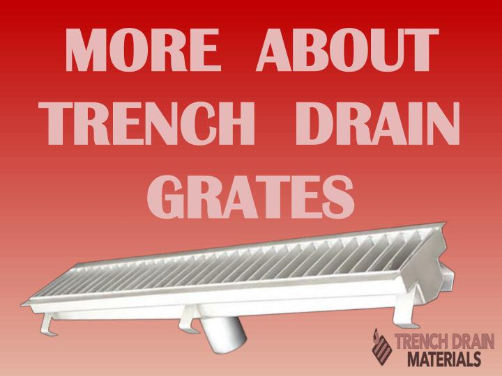 more about trench drain grates n.