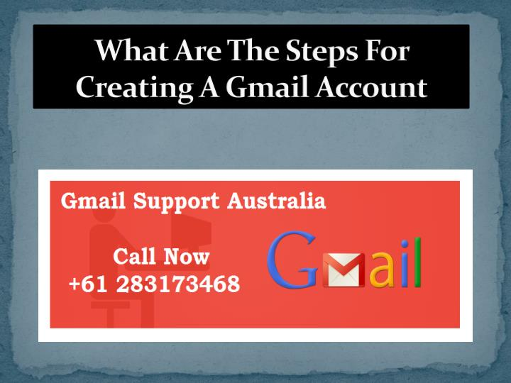 what are the steps for creating a gmail account n.