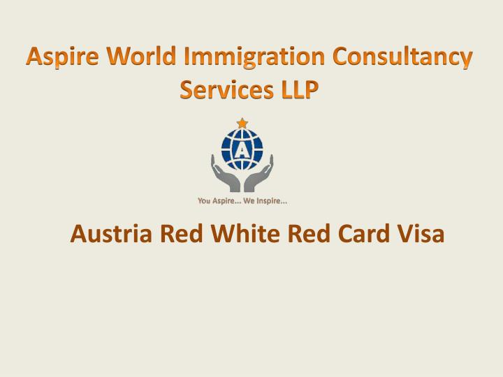 aspire world immigration consultancy services llp n.
