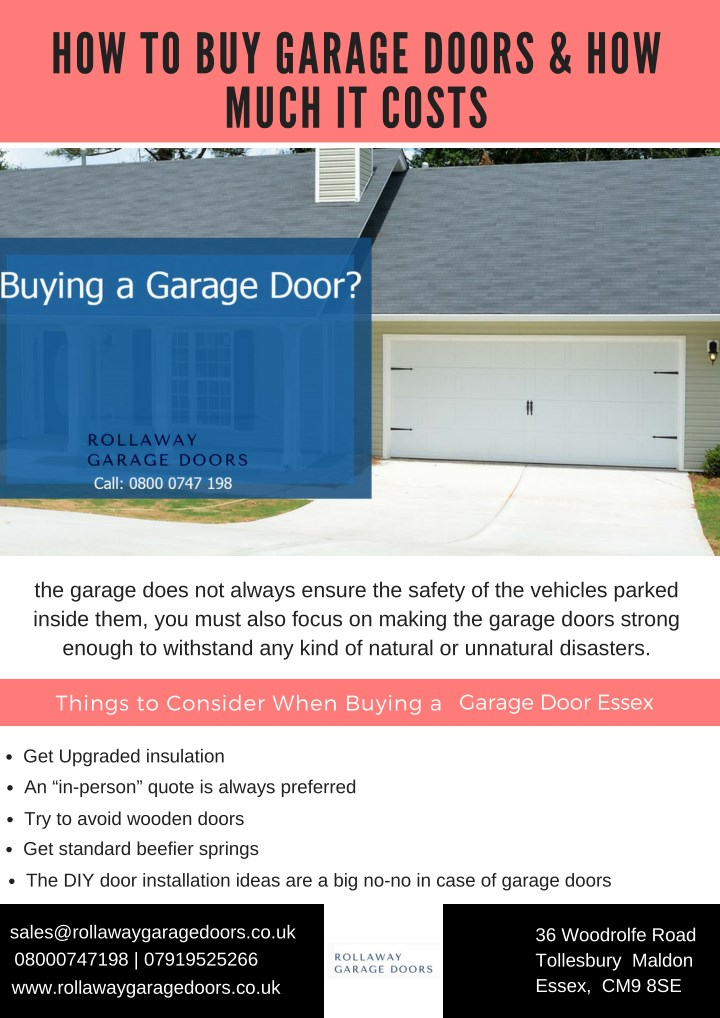 Ppt How To Buy Garage Doors How Much It Costs Powerpoint