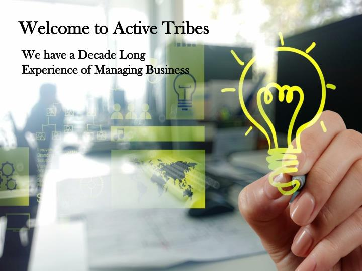 welcome to active tribes n.
