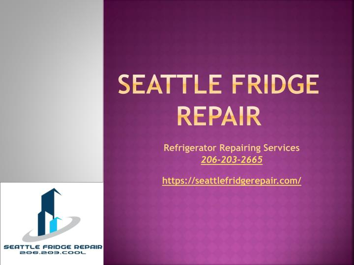 seattle fridge repair n.