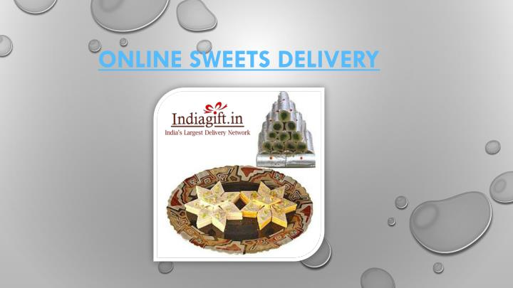 online sweets delivery n.
